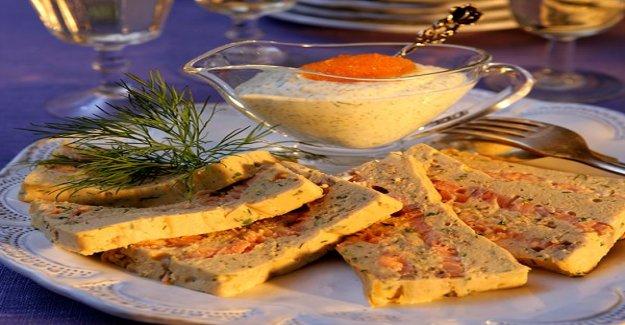 Recipe of the tastiest laxpatén