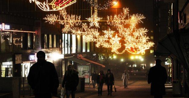 Rekordartet christmas shopping, but butikkdøden can accelerate
