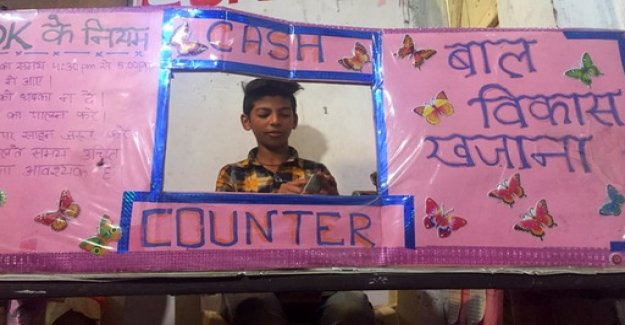 Report from India: Where the children's Bank is not a game