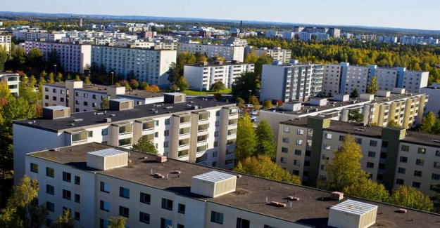 Research carried out by disadvantaged neighborhoods - is your neighborhood on the list? Oulu stood out above the rest