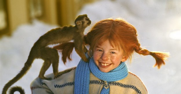 Reveals the Pippi secret for almost 50 years: - He beit, peed and bæsjet