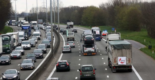 Road pricing on every Flemish way on arrival