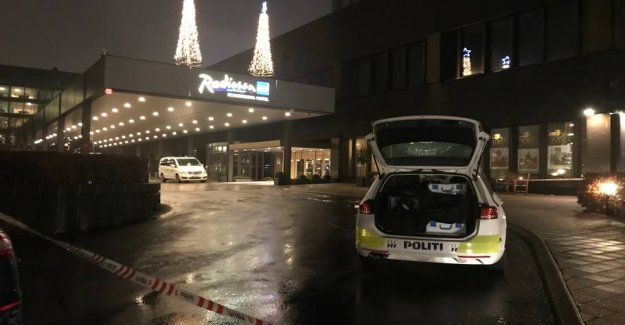 Robbery at casino: - People stormed out of the hotel