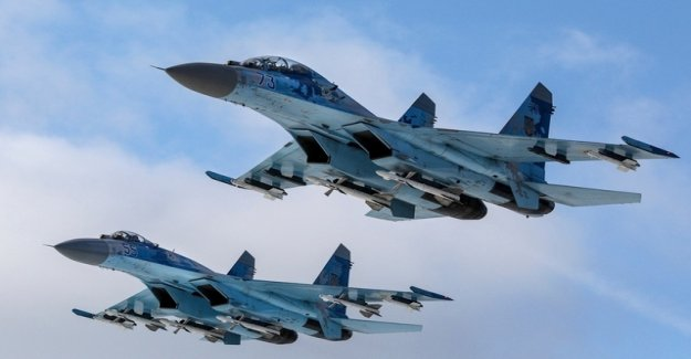 Russia moved the Jets to the Crimea and provoked Japan