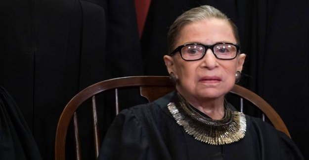 Ruth Bader Ginsburg : The Star by the Supreme Court