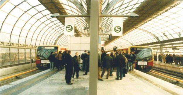 S-Bahn Berlin : As the West re-coupled was