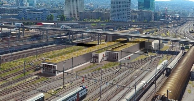 SBB is planning a million project in the middle of the Zurich Track