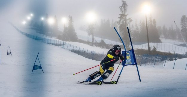 Sandra Näslund open for the super-G could double in the next OS