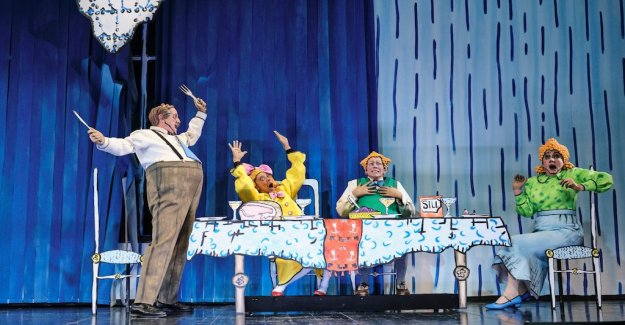 Scenrecension: A Karl-Bertil Jonssonsk christmas eve to laugh with in