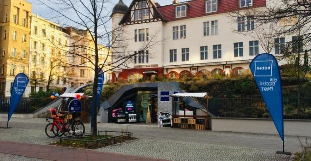 Second branch in Prenzlauer Berg : How Budni between Rossmann and dm in Berlin on foot will take