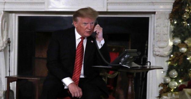 Seven-year-old believes despite Trump to Santa Claus