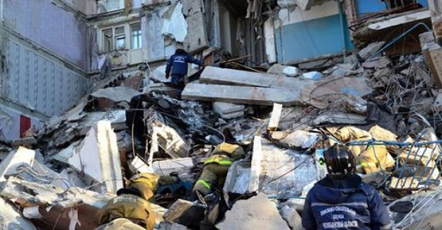 Several Dead after gas explosion in a Russian tower block