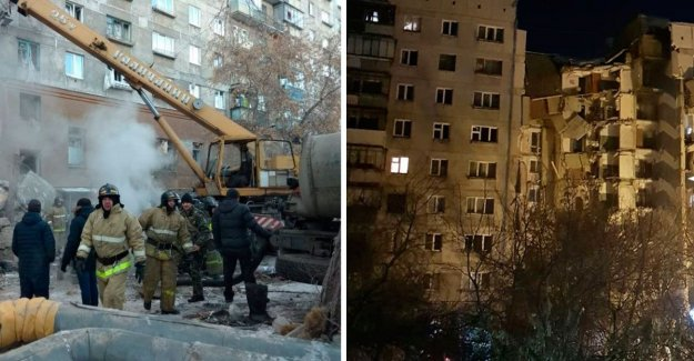Several dead after höghusras in Russia