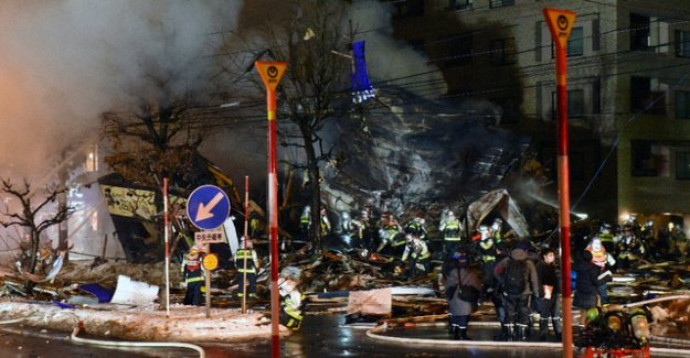 Several injured after strong Explosion in a Restaurant in Japan