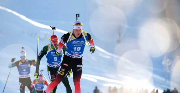 Skiskytterherrene had to give way to the swedes