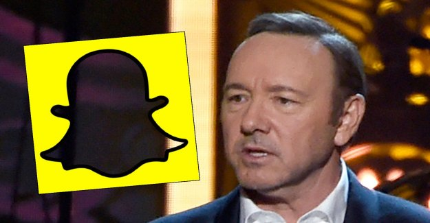 Snapchat-film can trap Kevin Spacey
