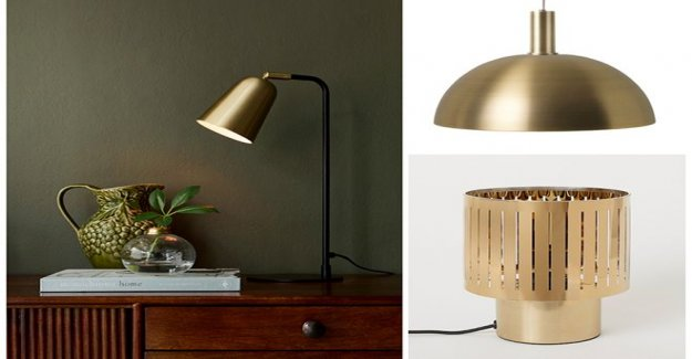 So decorating with lamps – the brightest tips