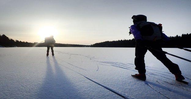So skrinnar you safe on the ice