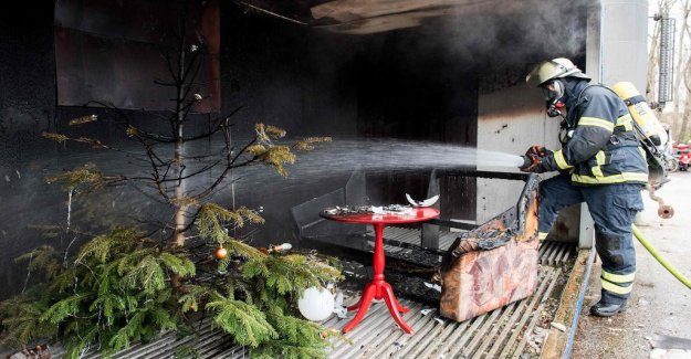 So you reduce the risk of fire during the christmas season