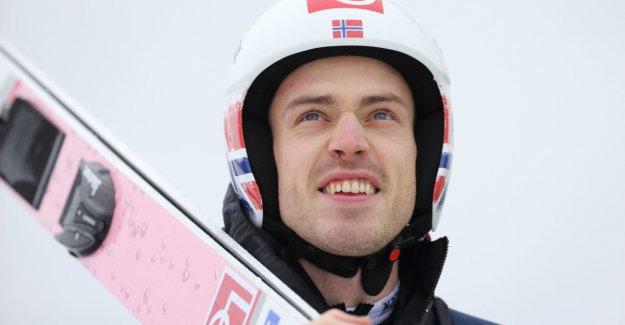 Solid jumping: All the Norwegian ready for nyttårshopprennet