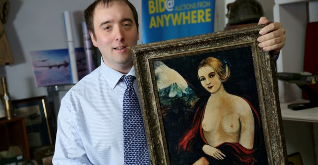 Stolen masterpiece from Allo, Allo sold at auction