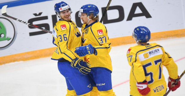 Sweden turned around and won against the Czech republic