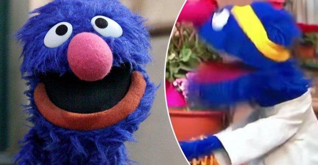 Swore Grover in the american tv series Sesame?