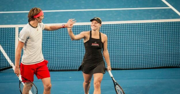 Tennis : Kerber and Zverev start with Victories in the Hopman Cup