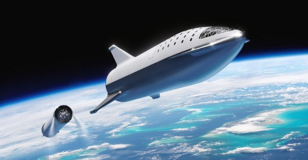 Testruimteschip of Elon Musk for mission to Mars takes shape. Launch for march or april of next year. In 2024, should be the first people to leave