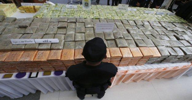 Thailand crackdown on drug dealing