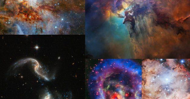 The 5 most beautiful space photo's of 2018