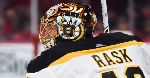 The Hurricanes beat the boston Bruins, 3-5 - Rask was falling to pieces, when Aho and sharp-do havoc