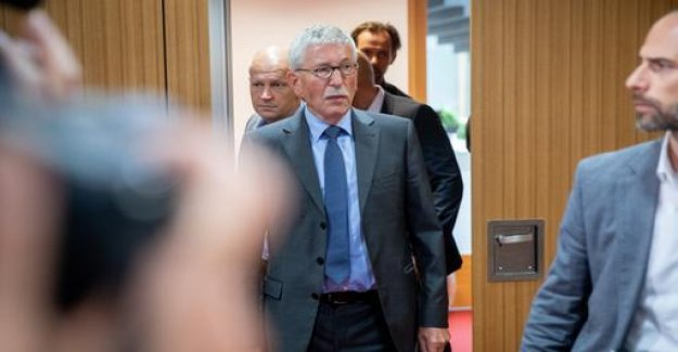 The SPD wants to the exclusion of Sarrazin's: The unruly comrade