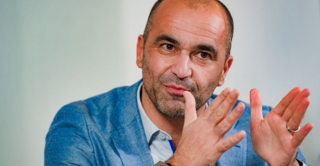 The closing words of 2018 for Roberto Martínez: Brazil? I wílde that my players are worried