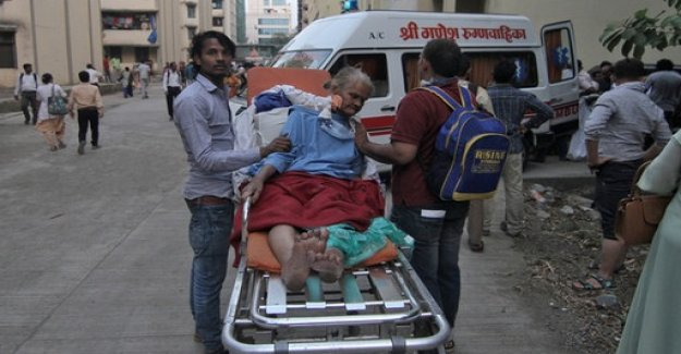 The dead and the injured in hospital fire in India
