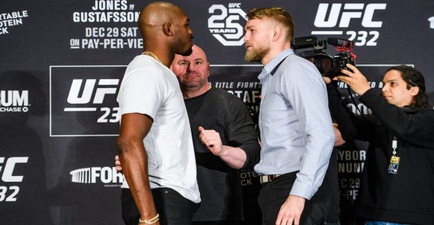 The doping of the focus on the press conference: Jon Jones is a cheater
