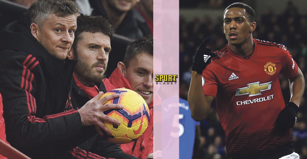The explanation – therefore missing Anthony Martial