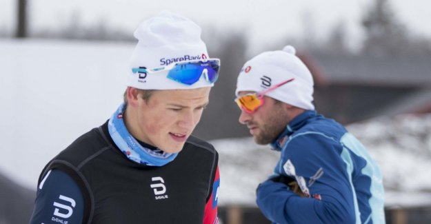 The figures showing how different they are. The difference to Northug's amazing