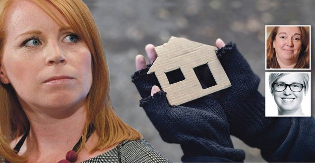 The market does not solve the housing crisis, Loof