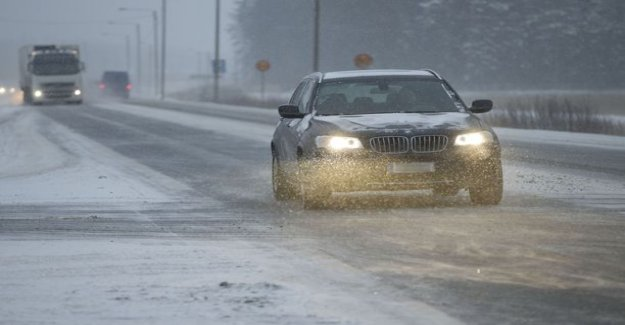 The meteorological agency warned of icy slippery - snow coming in large parts of Finland