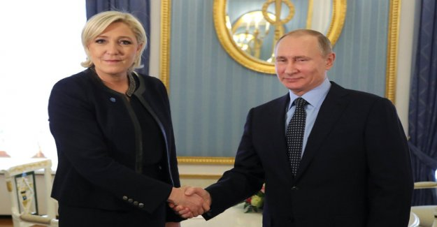 The mystery to a Russian loan for Le pen's party