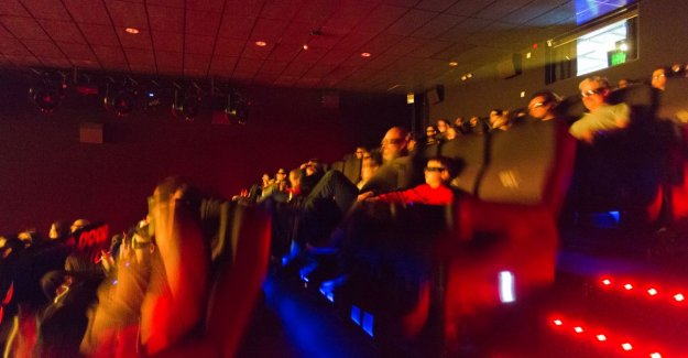 The new 4DX room at Kinepolis: water, wind, a lot of shocks... but most of all fun