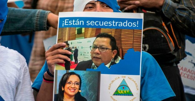 The nicaraguan president to the attack on the independent media