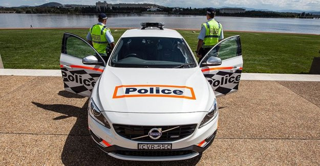 The police's new monster - a Volvo with 329 hp