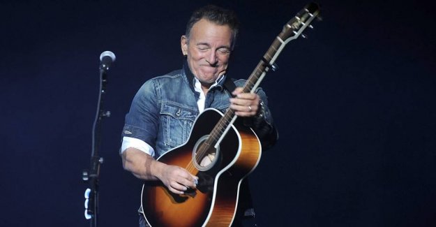 The race is run: Springsteen has finished