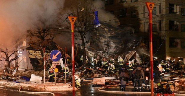 The strong explosion in the bar in Japan, at least 41 injured