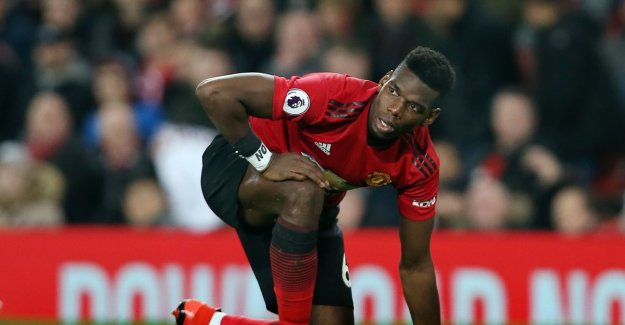 Therefore, had Paul Pogba the word No on the arm