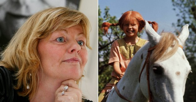 Therefore, she refused to mention the Pippi in the interviews: - A private protest