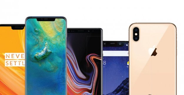 These are the most popular smartphones in 2018 (and you can make your own win)