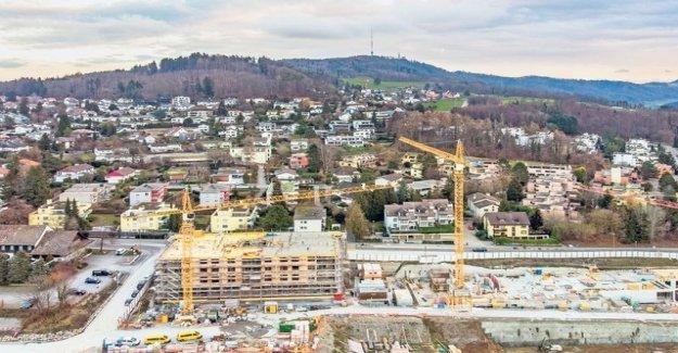 This is something Big – Zurich's Bank village is urbanized
